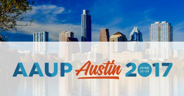 AAUP 2017 Austin