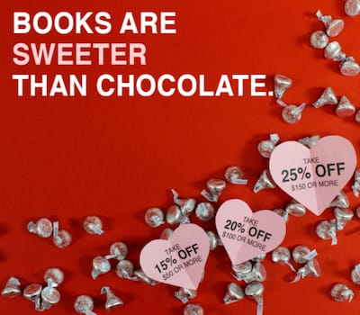 Books are sweeter than chocolate