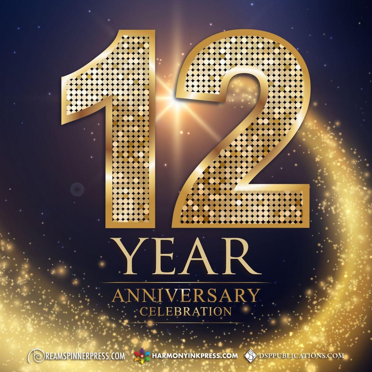 Dreamspinner Press 12th Anniversary Celebration