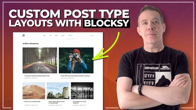 Easy Custom Post Types with the Blocksy Theme