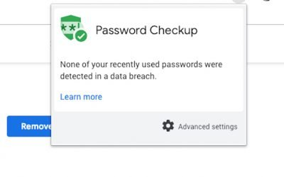 Has that password been compromised? New Chrome extension will check.