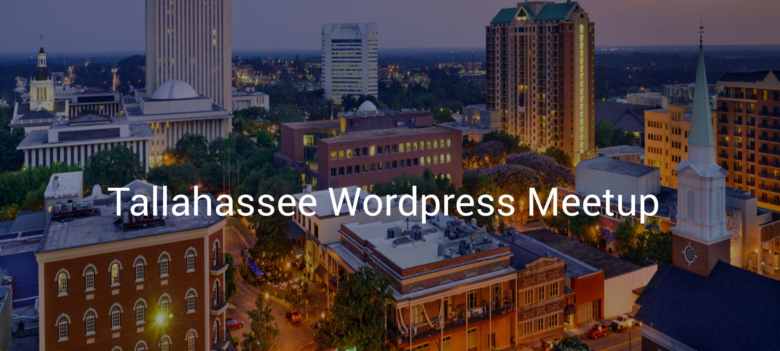 Tallahassee Wordpress Meetup