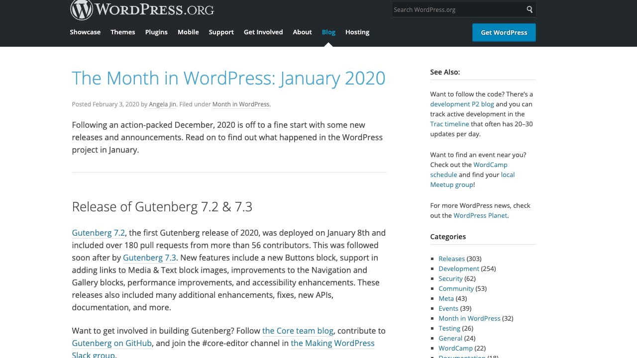 Are You Following 'This Month in WordPress'?