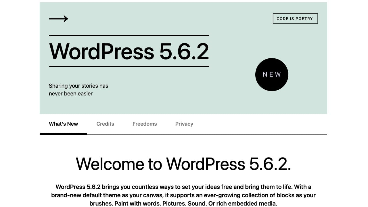 Wordpress 5.6.2