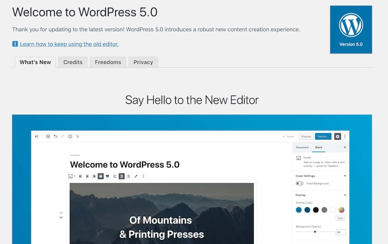 WordPress 5.0 Releases Tomorrow. Are You Ready?